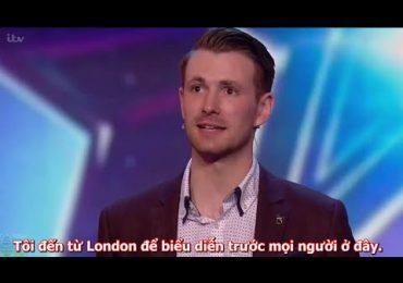 (Vietsub) Soái ca ảo thuật của Britain's Got Talent – Ảo tung chảo