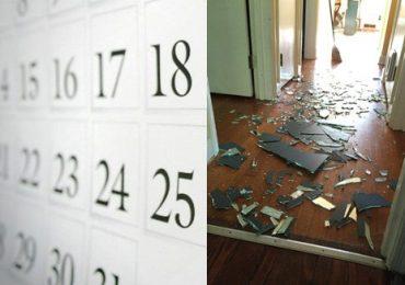 Những ngày đại hung trong tháng 11 tuyệt đối phải cẩn thận, không đùa được đâu