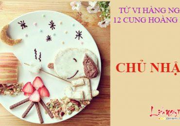 TỬ VI CHỦ NHẬT NGÀY 20/11/2016 CỦA 12 CUNG HOÀNG ĐẠO