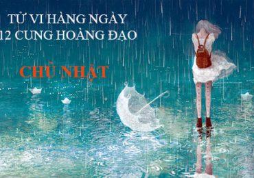 TỬ VI CHỦ NHẬT NGÀY 06/11/2016 CỦA 12 CUNG HOÀNG ĐẠO