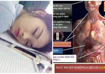 Những tác hại 'khủng khiếp' vì thức khuya bạn nhất định phải biết